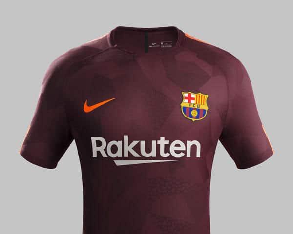 3eme Maillot FC Barça Saison 2017-2018