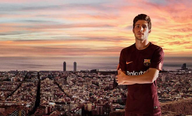 3eme Maillot FC Barcelone third Kit 2018