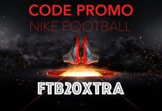 CODE PROMO NIKE FOOTBALL