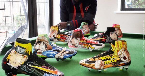 Crampons-Foot-Bakary-Sako-Nike-Mercurial-Superfly-Customisation-Manga-Orravan-Design