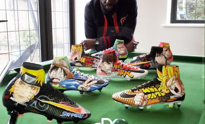 new concept e2d5c e8a5a Crampons-Foot-Bakary-Sako-Nike-Mercurial-Superfly-Customisation-