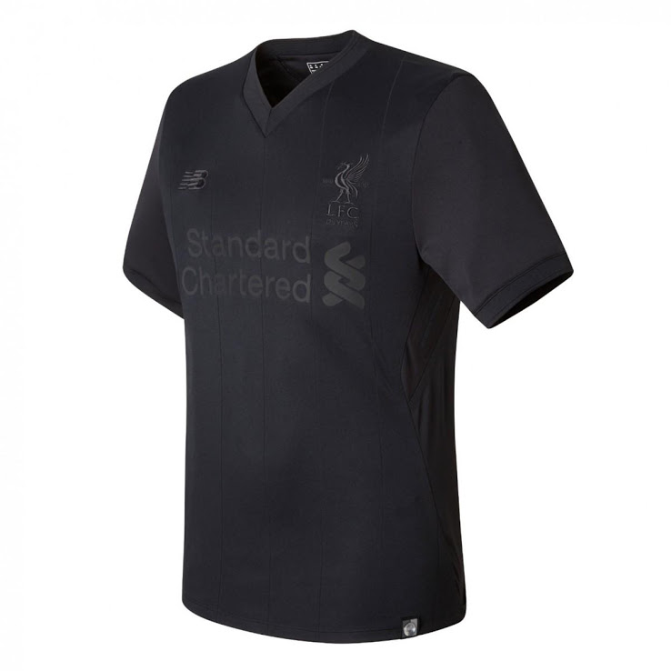 Maillot de Football New Balance Liverpool FC - Edition Limitée Pitch Black Collection