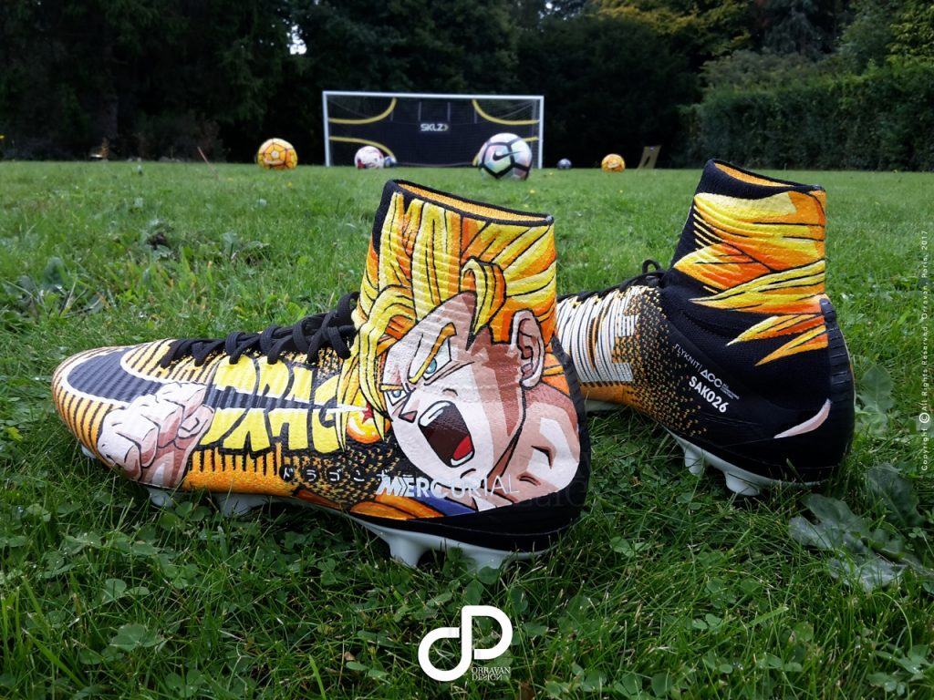 Nike Mercurial Superfly Dragon Ball Z Orravan Design
