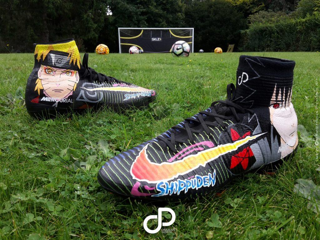 23c4d5526d7f ... chaussures Nike Mercurial Superfly sublimées par les dessins peints à  la main de ...