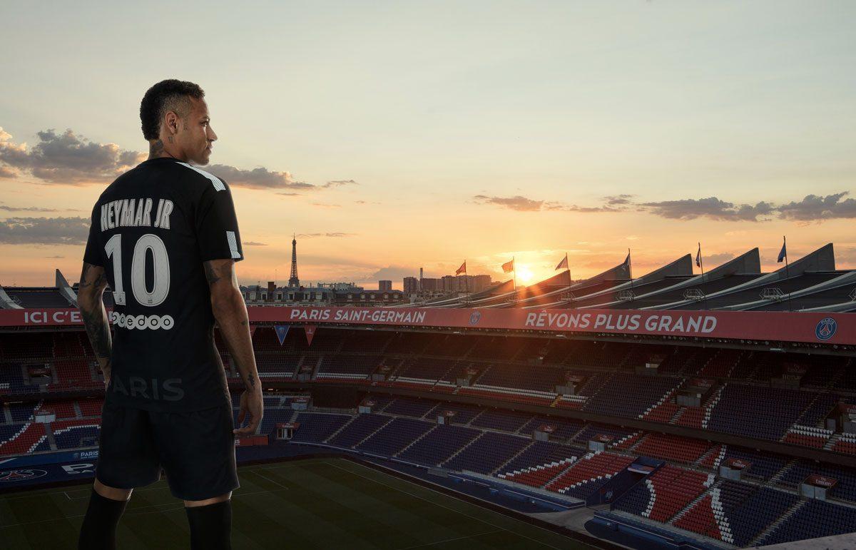 Le 3ème Maillot Noir du PSG Saison 20172018 | Foot Inside