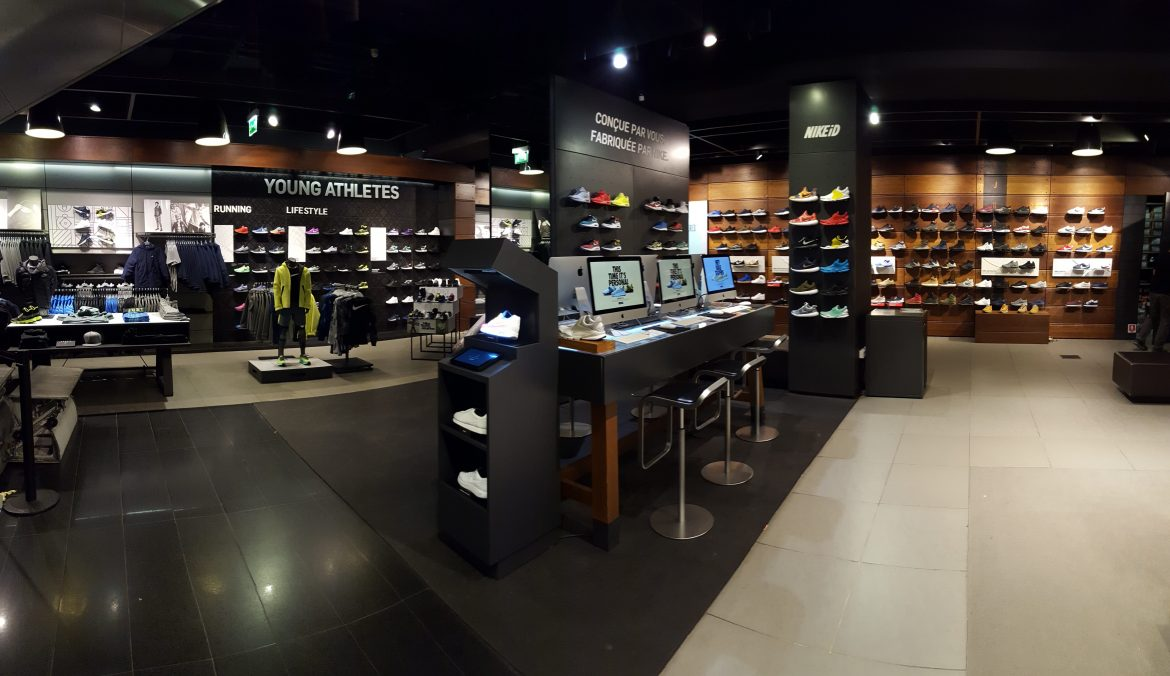 boutique nike football paris