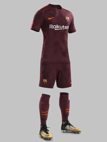 Tenue Maillot Ligue des Champions FC Barcelone 2018