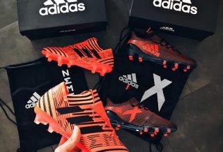 adidas Football présente le nouveau pack Pyro Storm