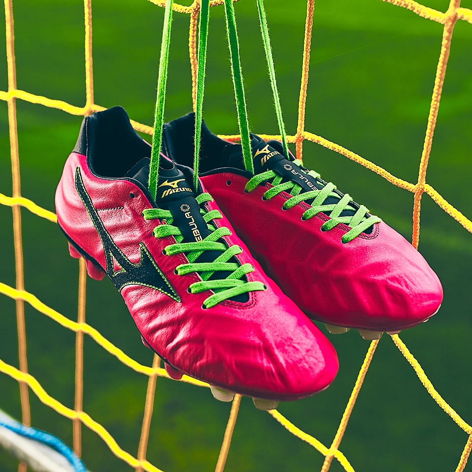 chaussure football Mizuno Rebula Rose