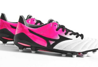Mizuno Morelia Neo II Made in Japan Pink Glow Black