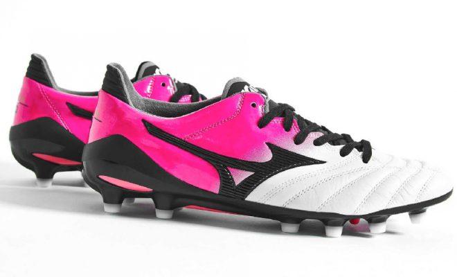 Mizuno Morelia Neo II Pink Glow Black