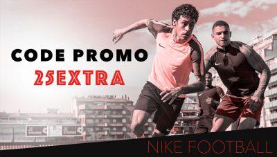 Code Promo Nike Football - Octobre 2017