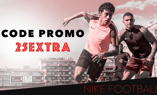 Code Promo Nike Football - Octobre 2017