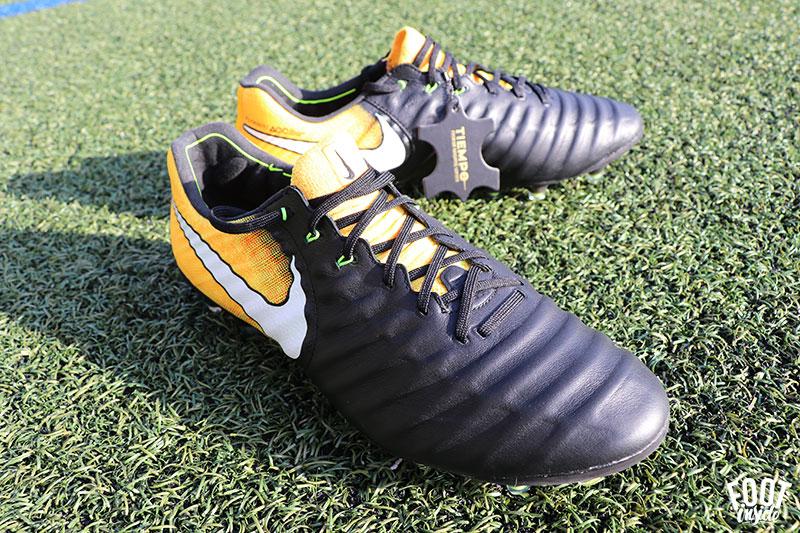 Test des chaussures de football Nike Tiempo 7, un modèle très confortable