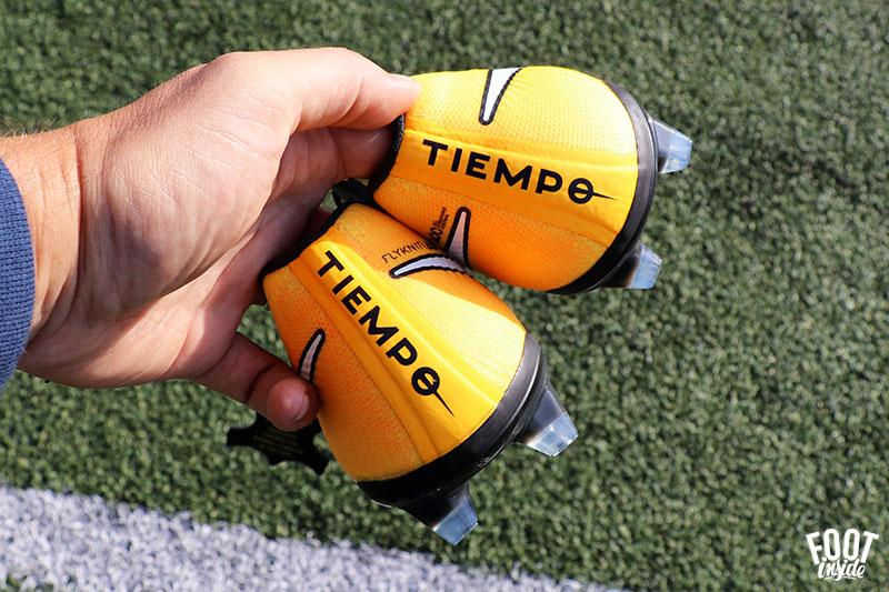 Test de la nouvelle chaussure de football Nike Tiempo VII