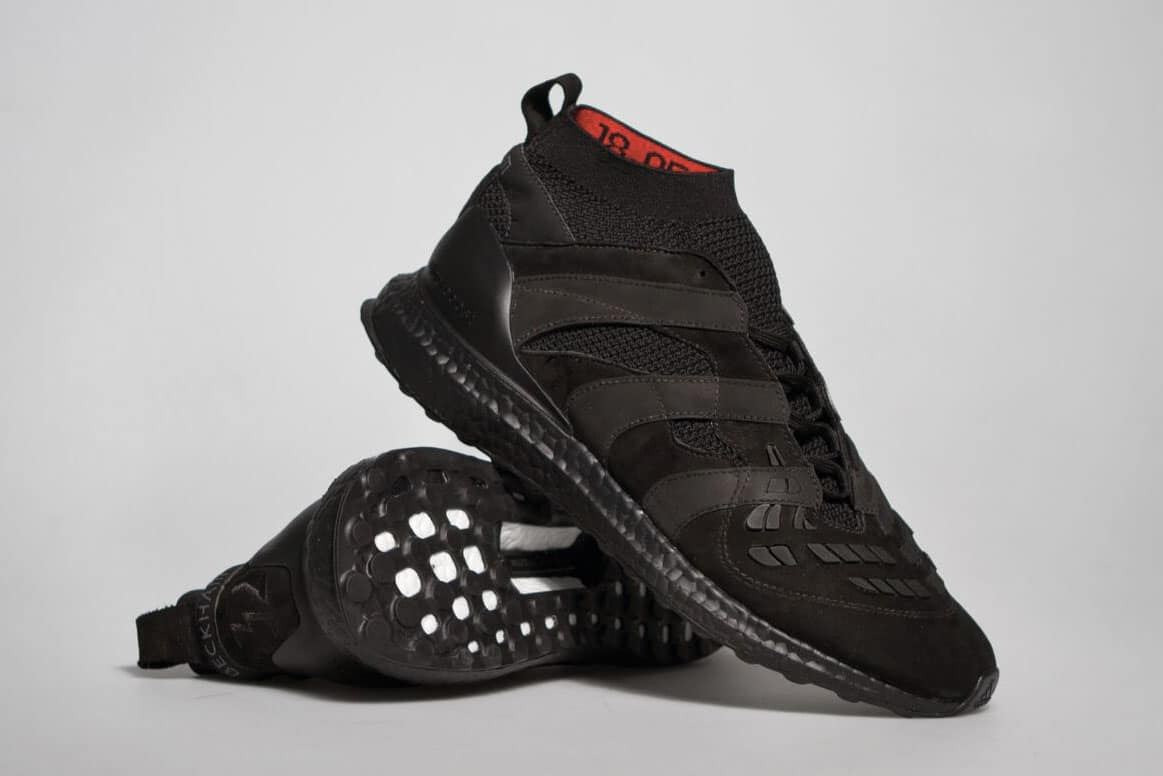Adidas Predator Accelerator David Beckham Ultra Boost - Triple Black