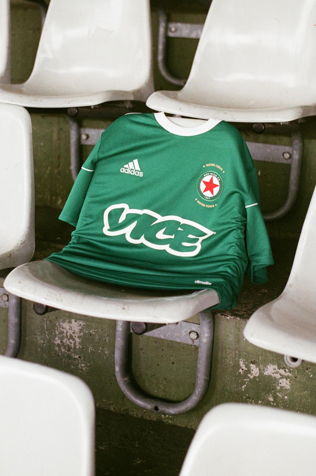 Le maillot du Red Star FC X Vice