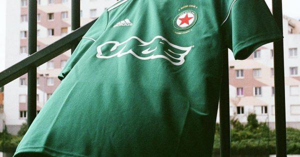 Maillot de foot du Red Star FC x Vice - Saison 2017-18