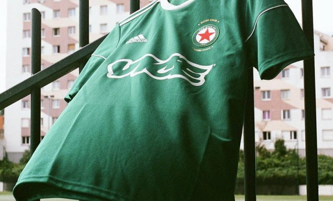 Maillot de foot du Red Star FC x Vice - Saison 2017-18