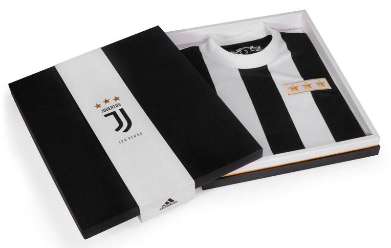 Maillot de la Juventus de Turin - Edition Spéciale pour les 120 ans du club