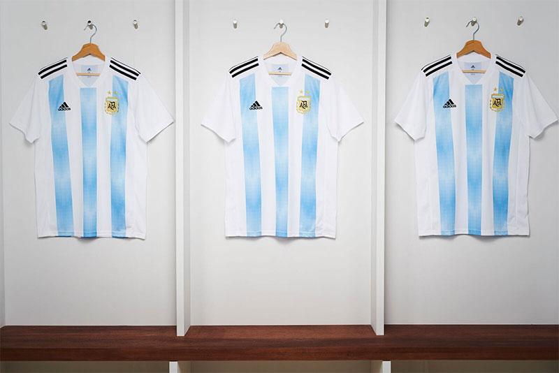 Maillot de foot de l'Argentine pour la coupe du monde 2018