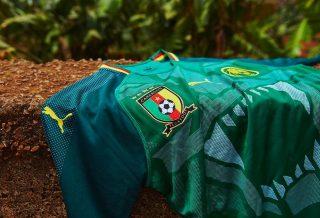 Le Cameroun dévoile son nouveau maillot 2018