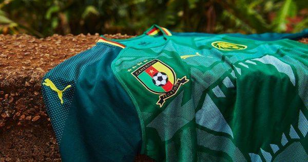 Maillot Cameroun 2018