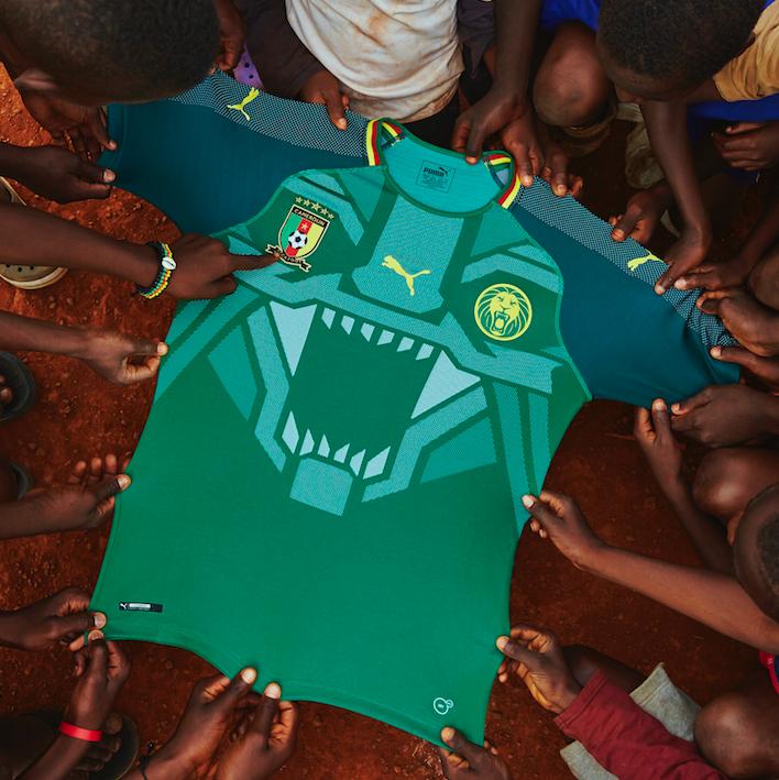Maillot Cameroun Puma 2018