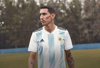 Le nouveau maillot de l'Argentine pour la coupe du monde 2018