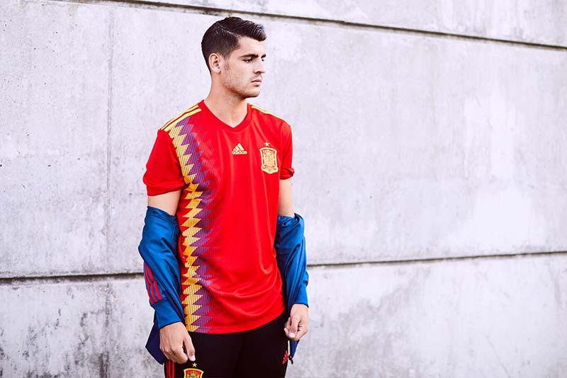Maillot de Football de l'équipe d'Espagne pour 2018