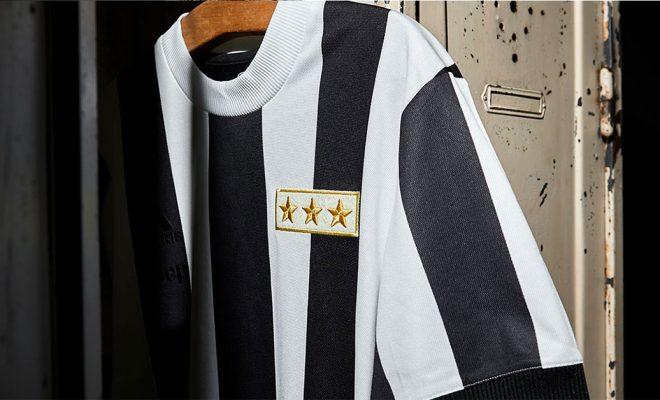 Maillot Vintage de la Juventus pour les 120 ans du club
