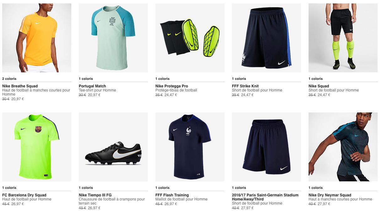 Nike Football Soldes Novembre 2017