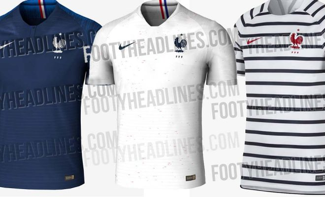 Maillot France Mondial 2018