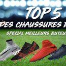Top 5 Chaussures de Foot Meilleurs Buteurs 2017