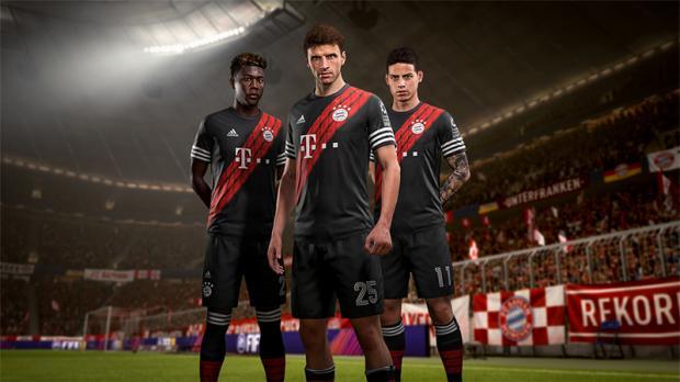 Maillot virtuel FUT du Bayern Munich FIFA 18