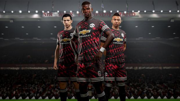 4ème Maillot adidas de Manchester United sur FIFA 18