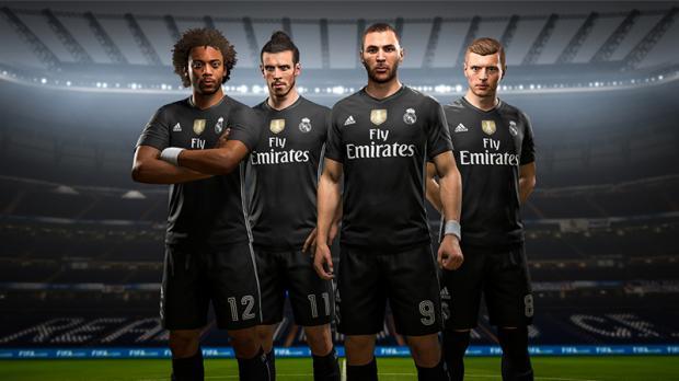 adidas Maillot virtuel FUT du Real Madrid sur FIFA 18
