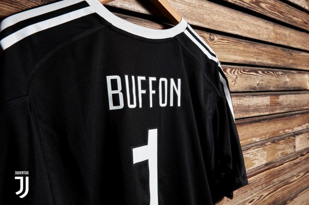Maillot Buffon anniversaire 40 ans Juventus