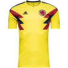 Colombie maillot domicile coupe du monde 2018