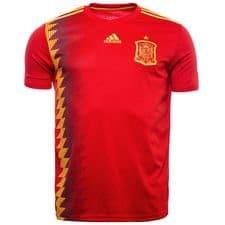 Espagne maillot domicile coupe du monde 2018