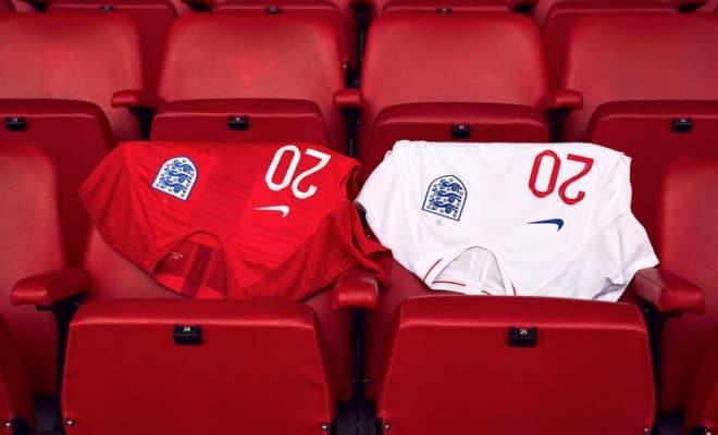 Maillot de l'Angleterre pour la Coupe du Monde 2018