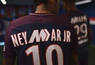 PSG : un Flocage spécial Mercurial pour Neymar JR et MBappe