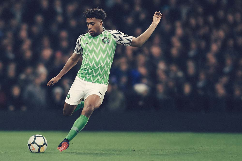 Maillot football domicile nigeria Coupe du Monde 2018