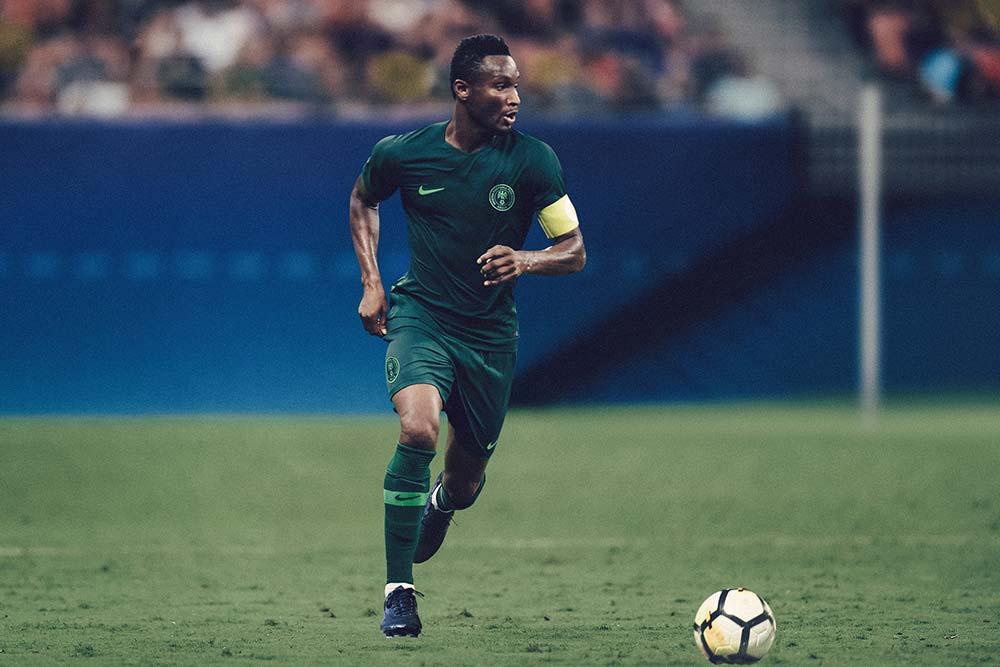 maillot extérieur du Nigéria pour la coupe du monde 2018