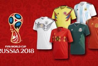 Coupe du Monde 2018 : Tous les maillots de Foot