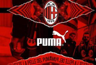 Puma devient le nouvel équipementier du Milan AC