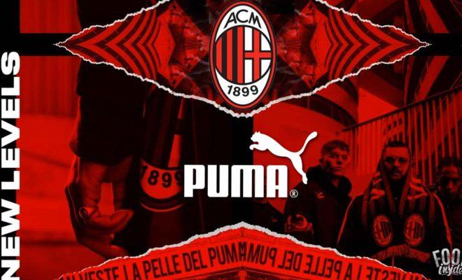 Puma nouvel équipementier du Milan AC