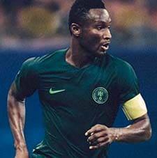 Nigeria maillot extérieur coupe du monde 2018