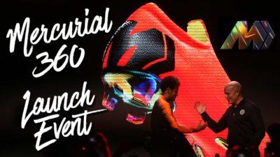 Nike Mercurial 360 Launch Event à Londres