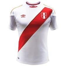 Pérou maillot domicile coupe du monde 2018